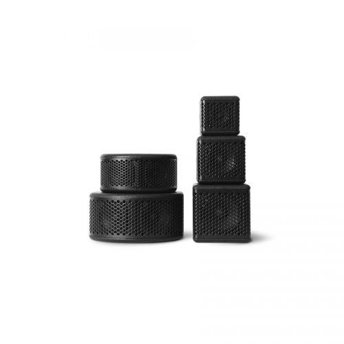Compact fullrange speaker